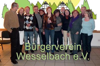 Mitglieder des Bürgervereins auf der Jahresauftaktveranstaltung 2009